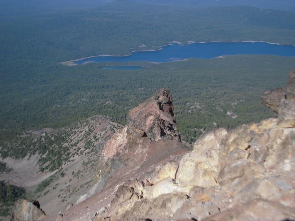 Fourmile Lake & North ridge finger